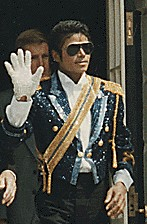 Michael Jackson at the Reagan White House, 1984